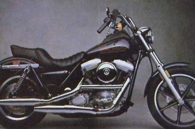 Harley-Davidson FXR 1340 Super Glide, 1986 Motorcycles - Photos