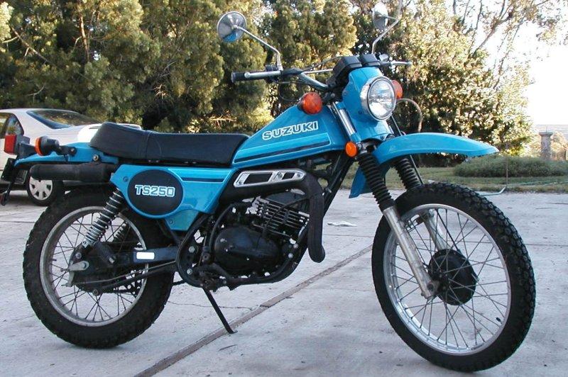 Suzuki TS 125 ER, 1980 Motorcycles - Photos, Video, Specs