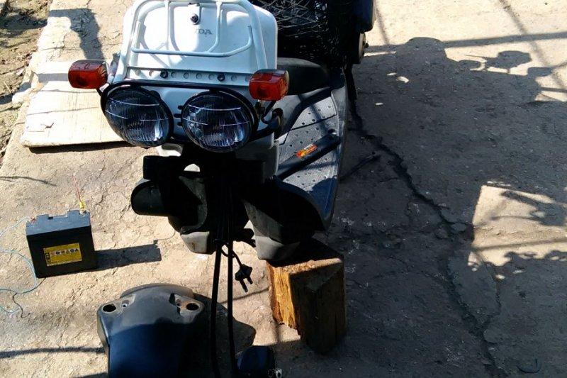Ремонт вилки скутера