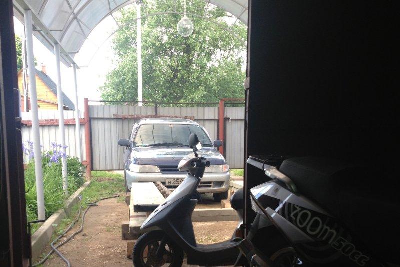 Ремонт пластика скутера Honda Dio