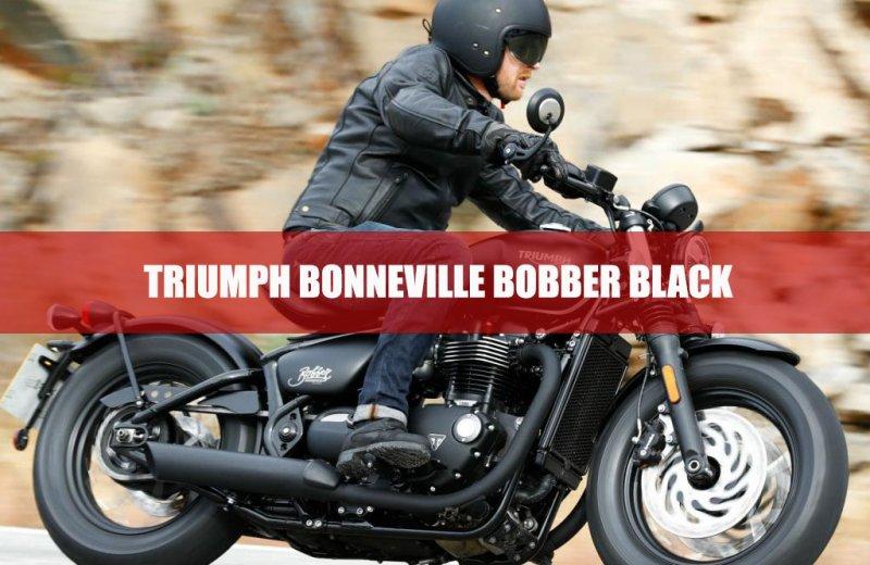 Triumph Bonneville Bobber Black: unveiling key features