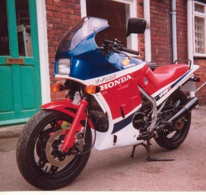 VF 500 F 2, 1987