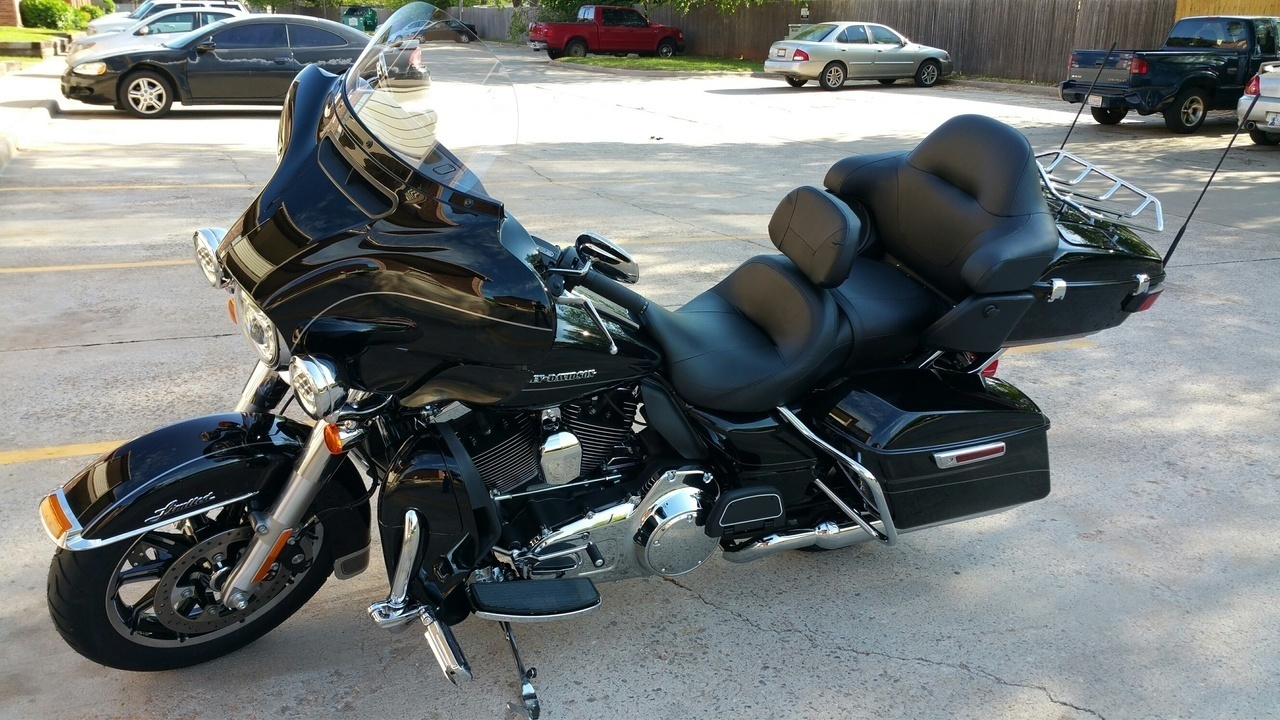 Electra Glide Ultra Limited, 2015