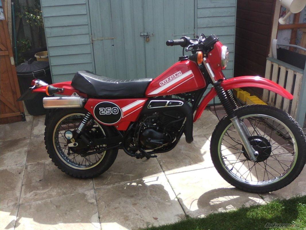 TS 250 ER, 1980