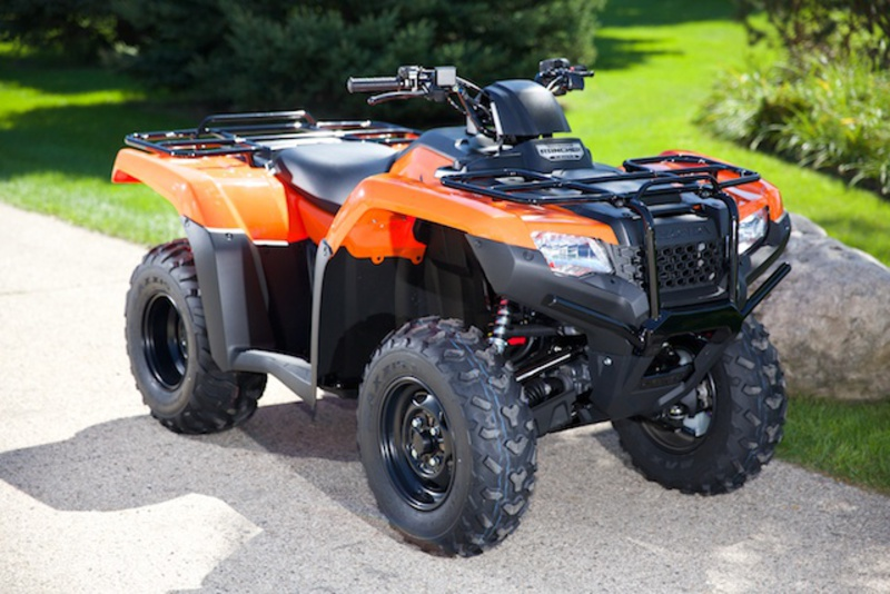 FourTrax Rancher 4X4 Automatic DCT, 2014