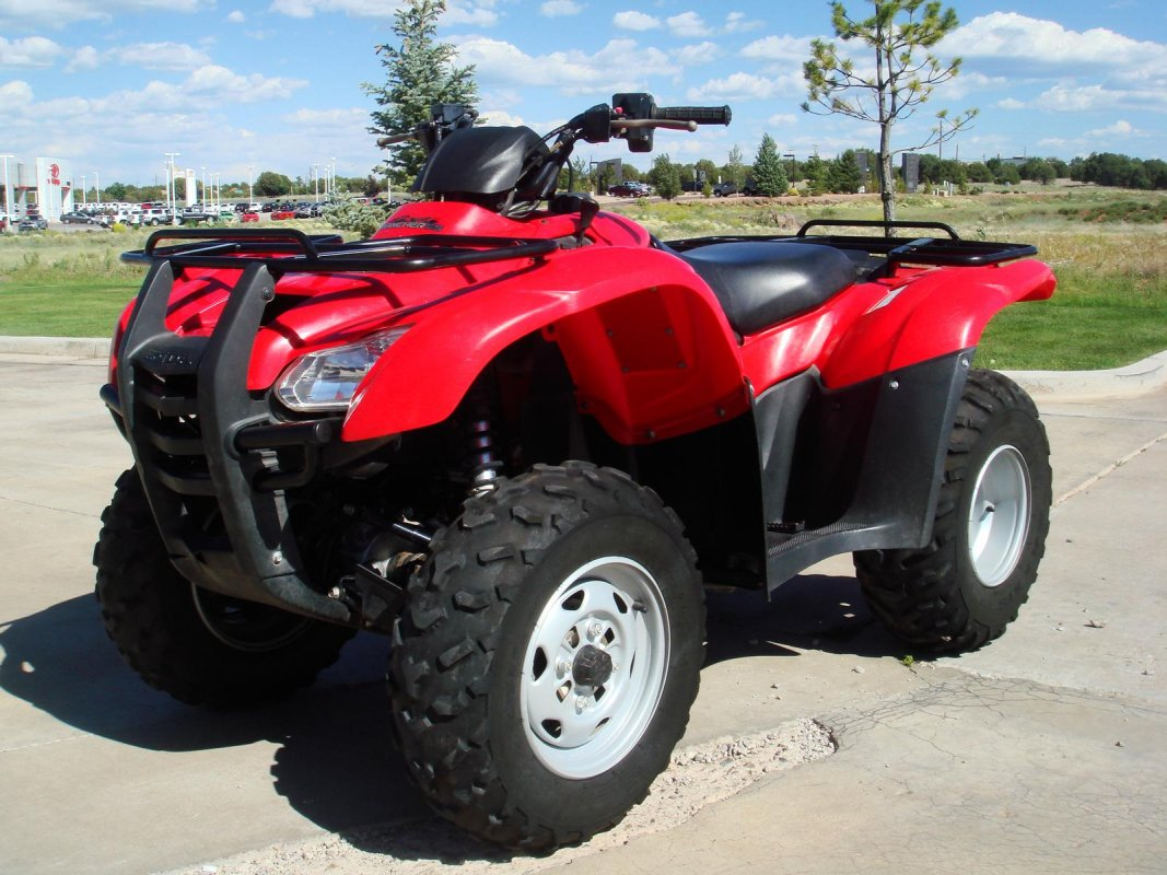 FourTrax Rancher AT, 2013