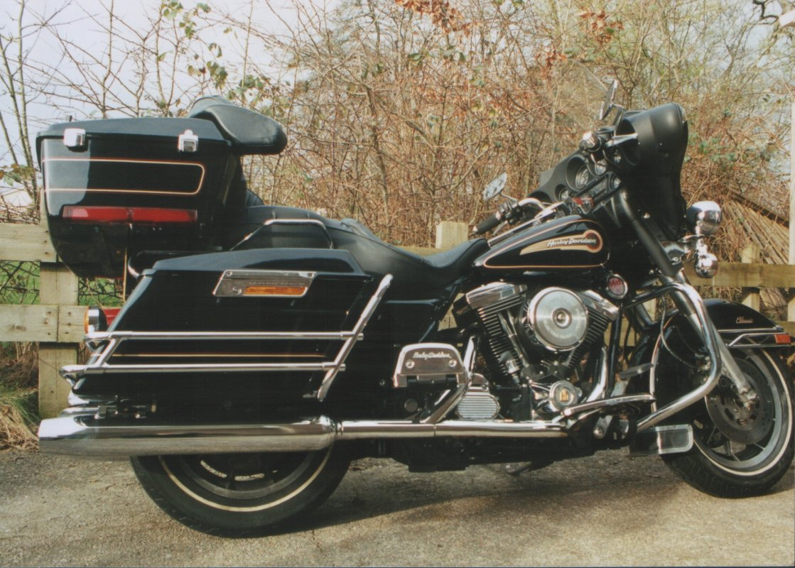 FLHTC 1340 Electra Glide Classic (reduced effect), 1991