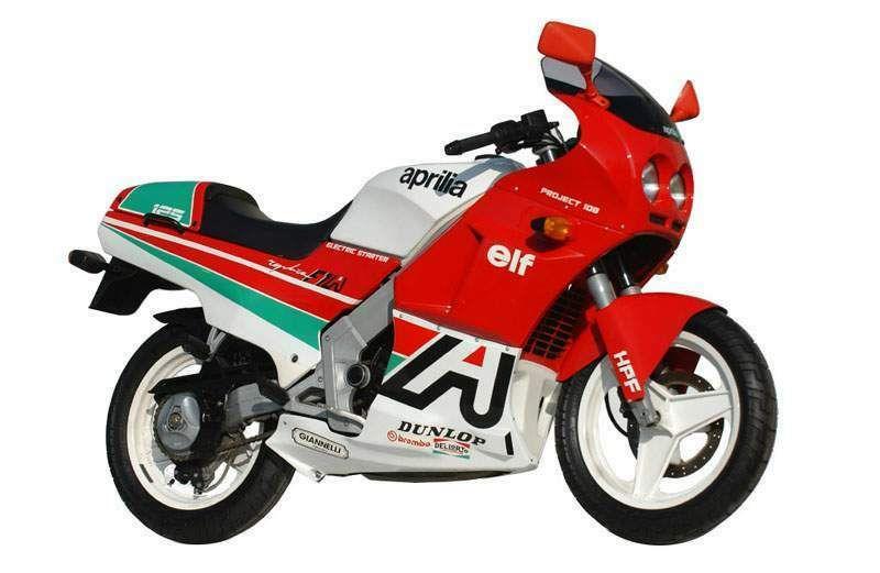 AF1 125 Sintesi Sport, 1990