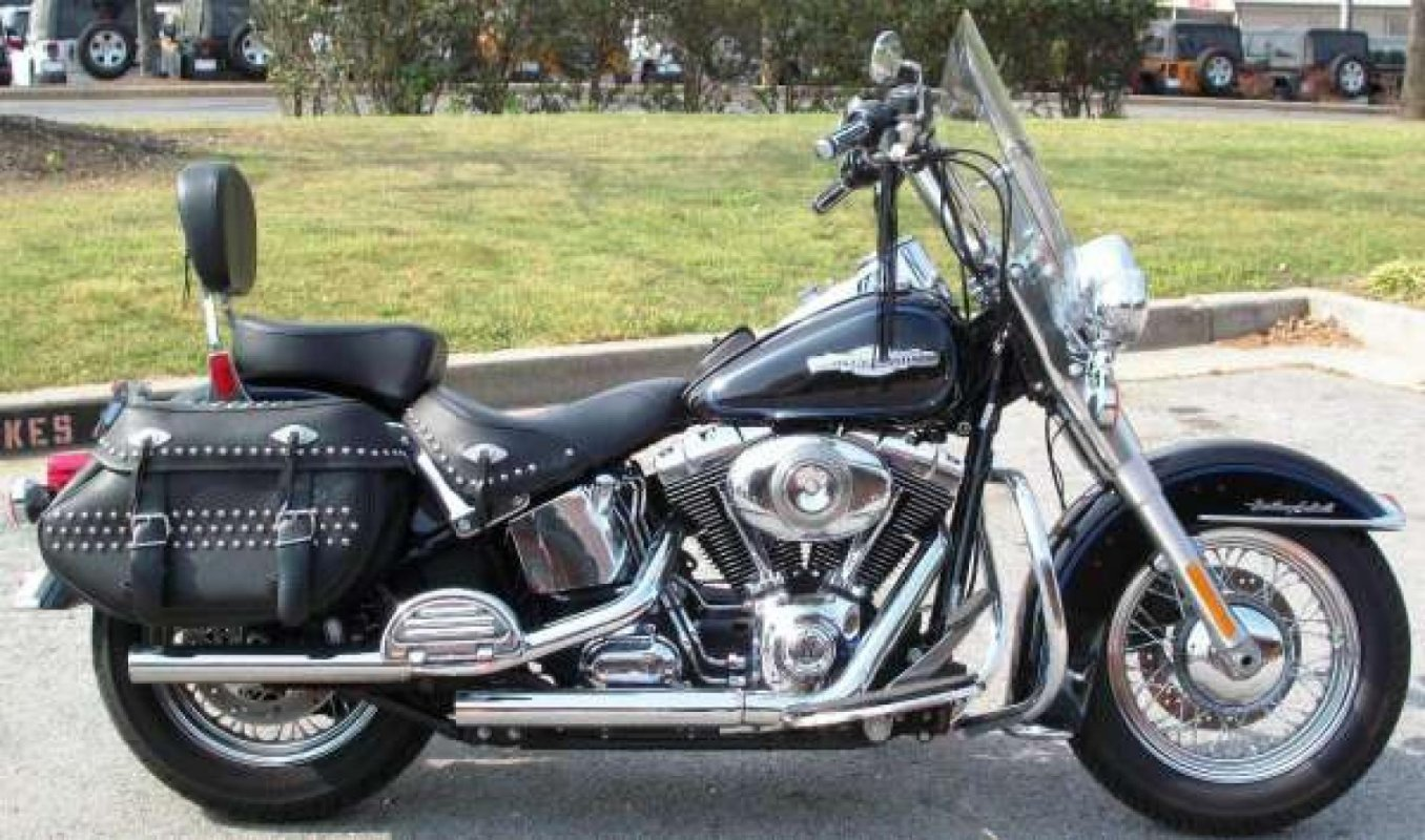 FLSTC Heritage Softail Classic Peace Officer, 2008