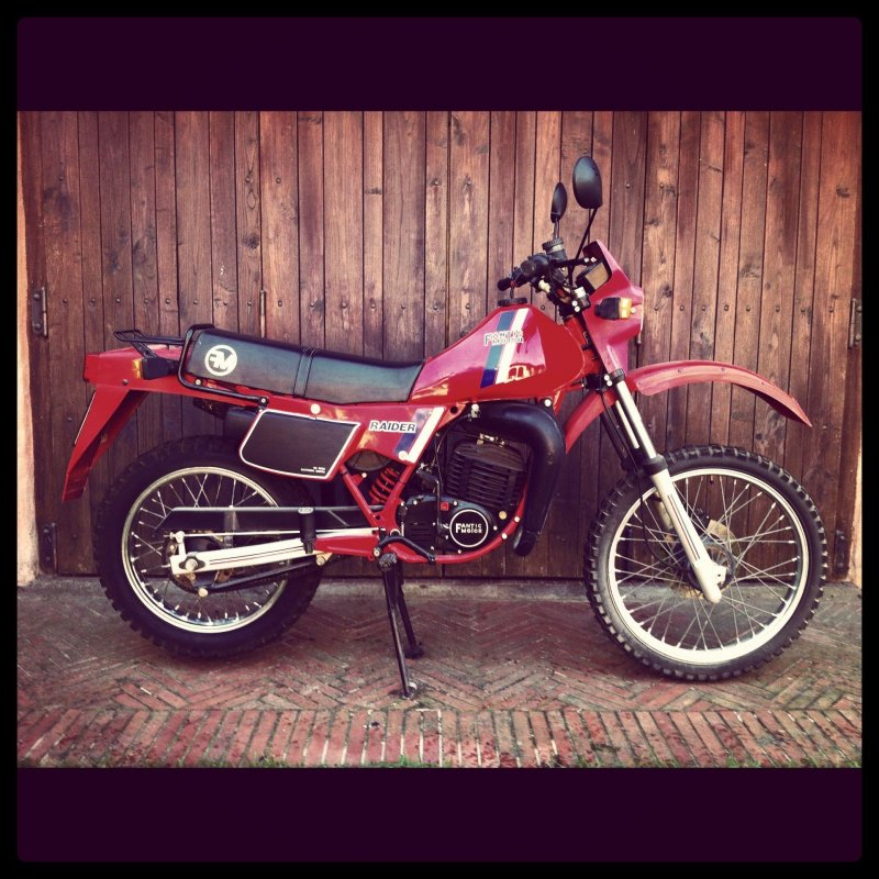 125 Raider LC, 1986
