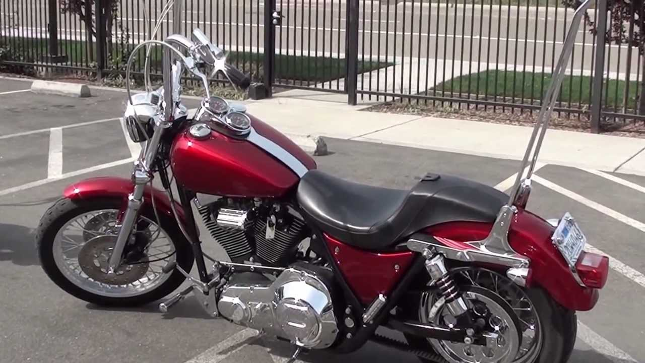 FLHS 1340 Electra Glide Sport (reduced effect), 1991
